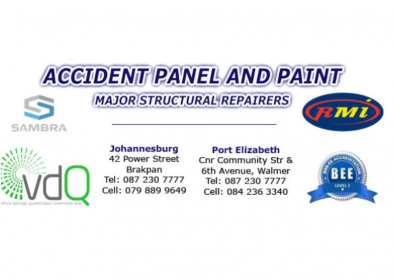 Accident Panel And Paint - Brakpan
