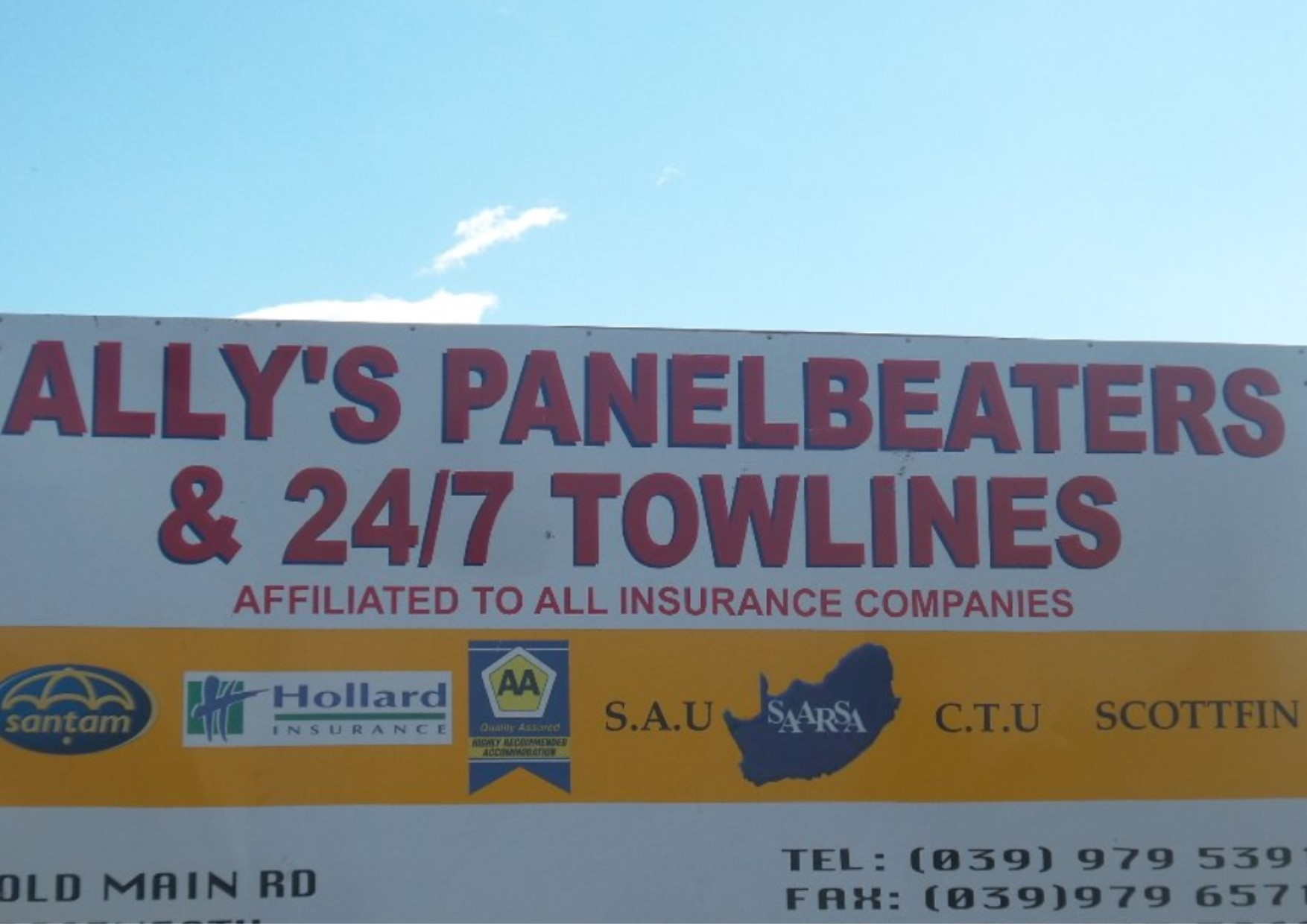 Allys Panelbeaters & 24/7 Towlines