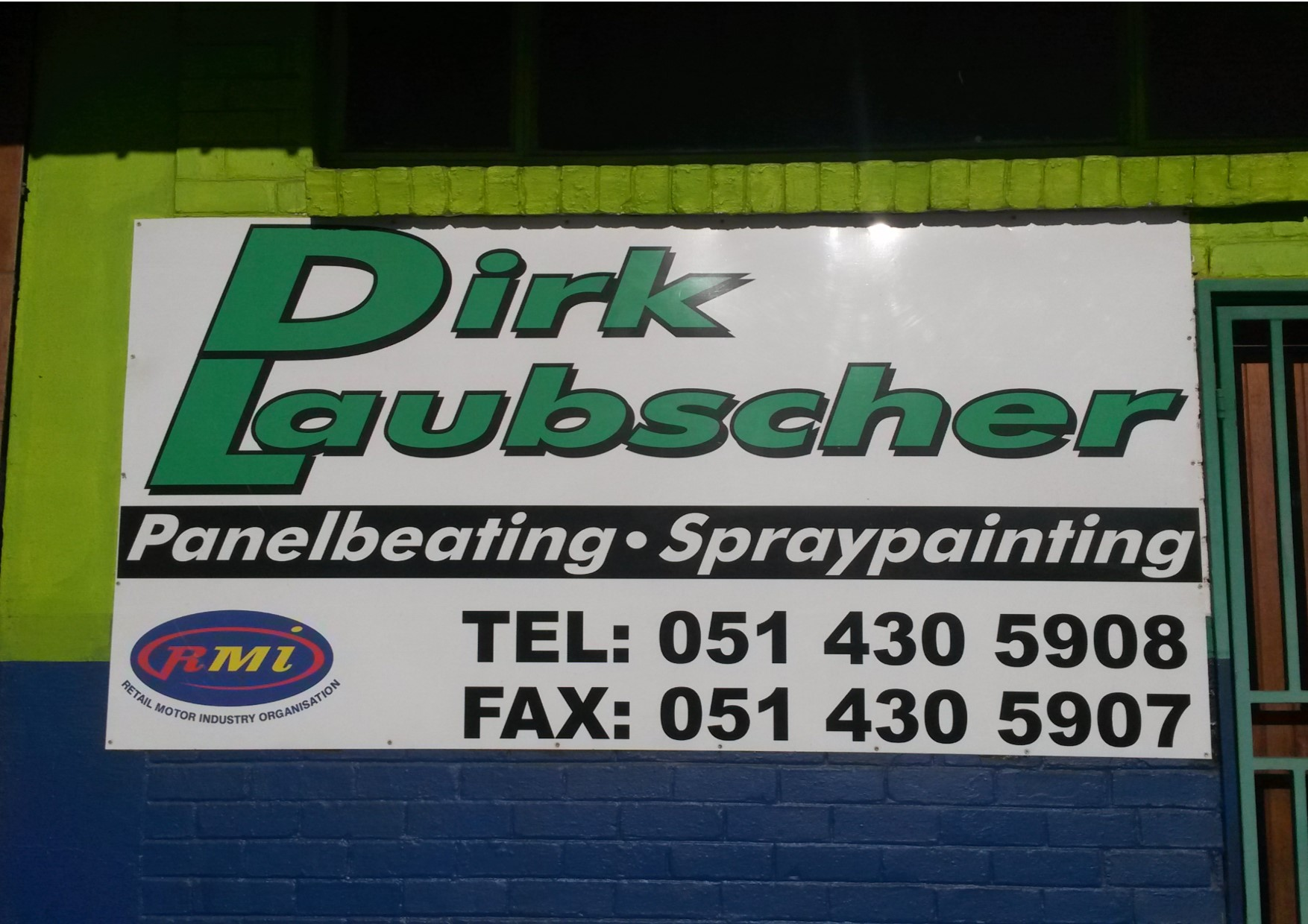 non structural repair approved panel beaters dirk laubscher panel