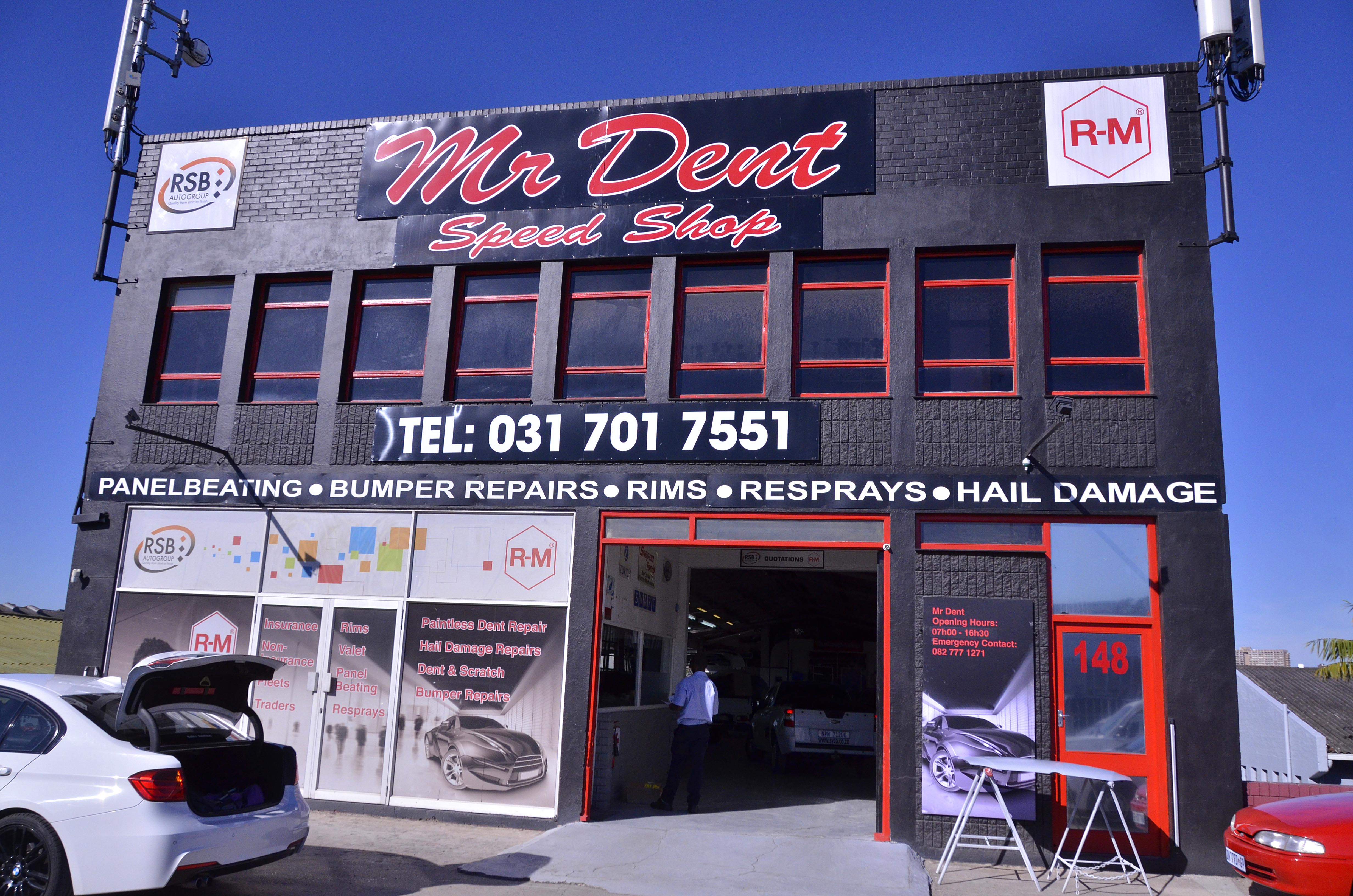 Mr Dent Speed Shop