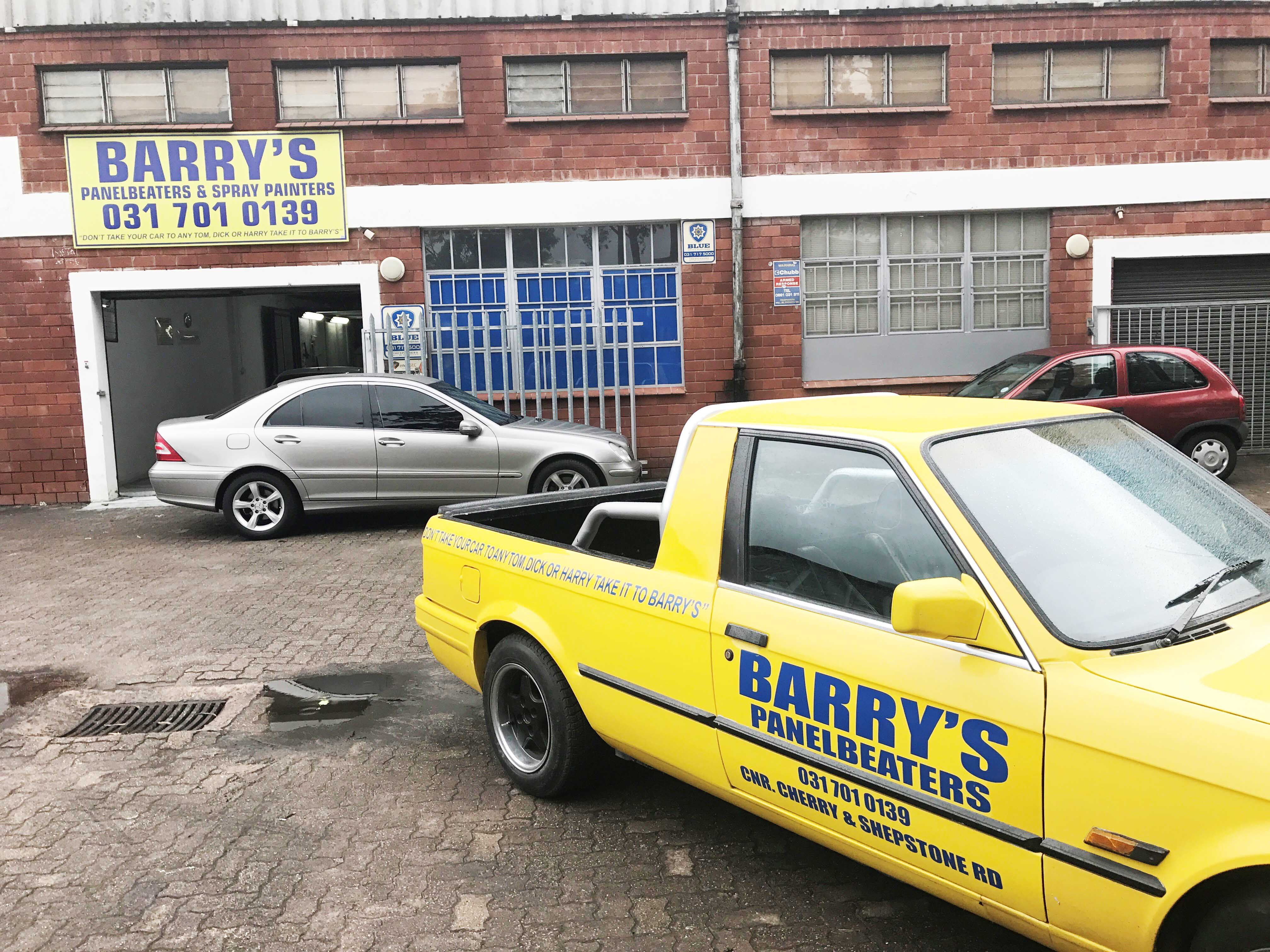 Barry's Panelbeaters Express Speed Shop