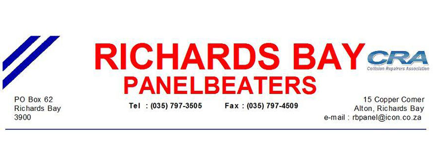 Logo of Richards Bay Panelbeaters
